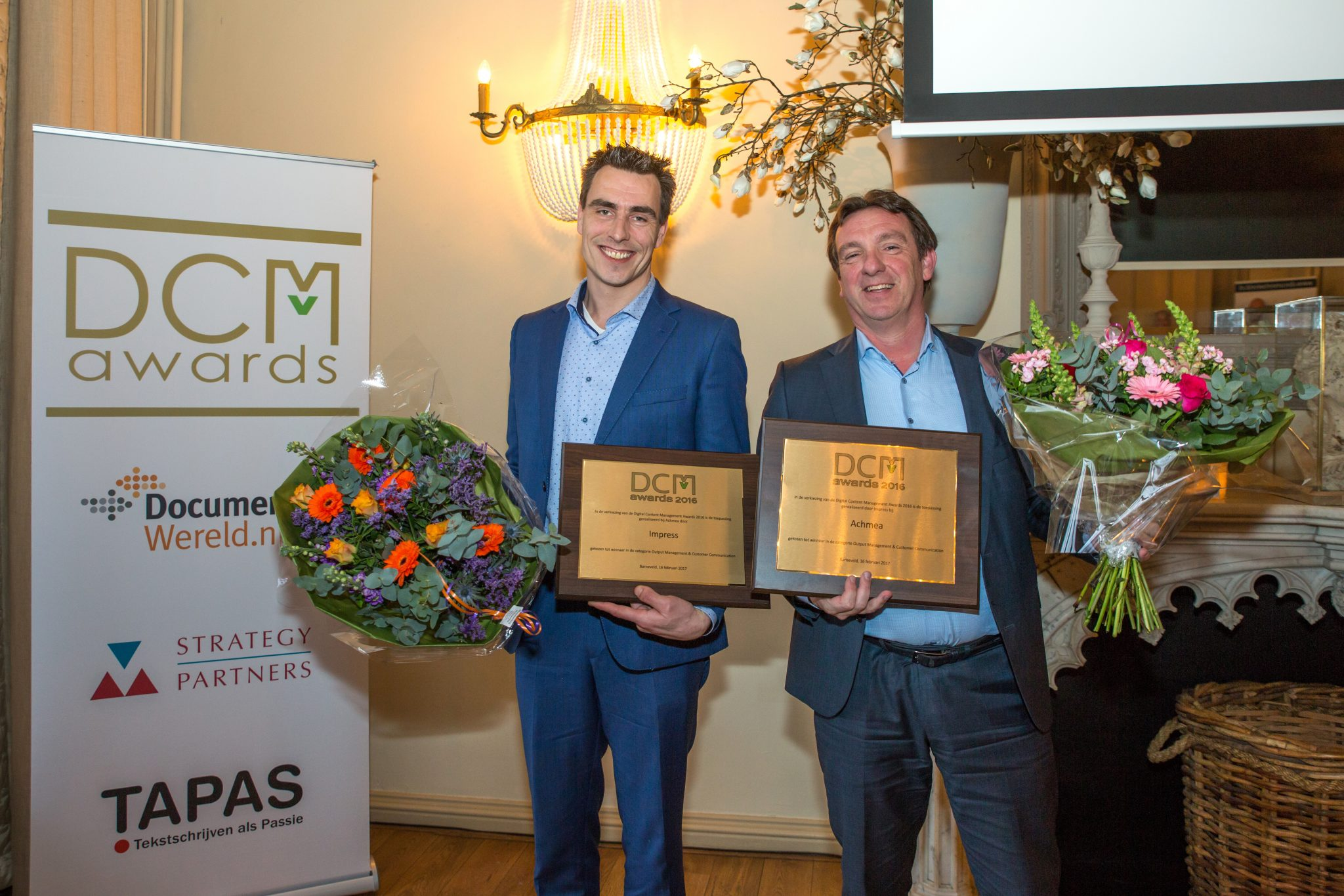 Impress wint DCM Award 2016